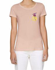 KlokArt dámské béžové tričko Stanley Stella Loves
