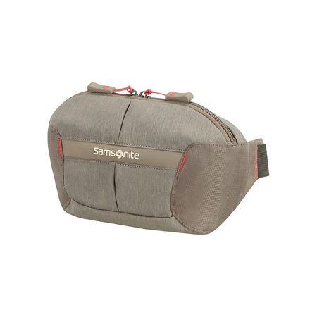 Samsonite pasna torbica Rewind, Taupe, rjava