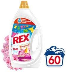 Rex pralni gel Malaysian Orchid & Sandalwood, 3 l, 60 pranj
