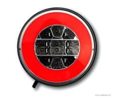 Golm LED luč za prikolico, 12/24V, okrogla - Odprta embalaža