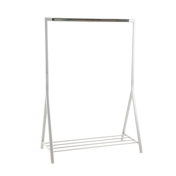 Design Scandinavia Věšák na ramínka Birgitta, 165 cm, bílá