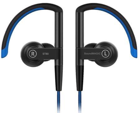 SoundMAGIC ST80 fülhallgató fekete / kék