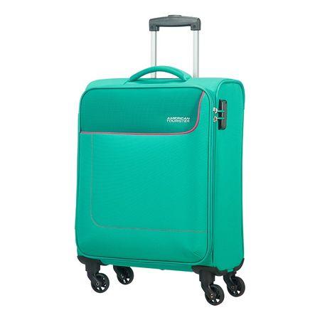 American Tourister kovček Funshine, spinner 66 cm, zelen