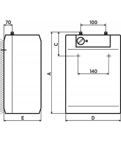 MORA BTOM 5 P vízmelegítő