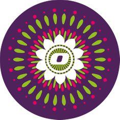 Nikidom komplet nalepk Roller Wheel Stickers Mandala