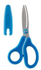 Nůžky dětské PLUS 14,5 cm modré