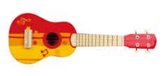 Hape Červené ukulele