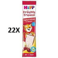 HiPP BIO Oplatka Banán-Višeň-Jogurt 11 x 23 g