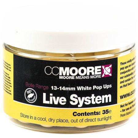 Cc Moore Plávajúce Boilie Live System Biele 13-14 mm 35 ks