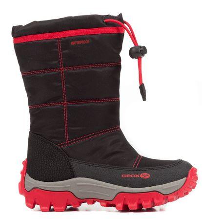 Geox chlapecké sněhule Himalaya 27 čierna/červená