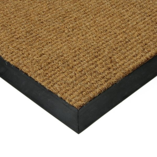 FLOMAT Béžová textilní zátěžová čistící rohož Catrine - 500 x 300 x 1,35 cm