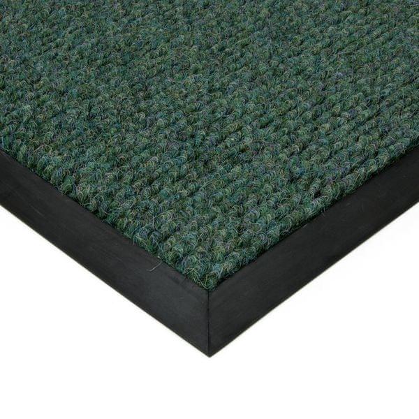 FLOMAT Zelená textilní zátěžová čistící rohož Catrine - 300 x 500 x 1,35 cm