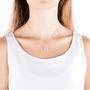 2 - Morellato Něžný náhrdelník zdobený kočičím okem SAKK05 stříbro 925/1000