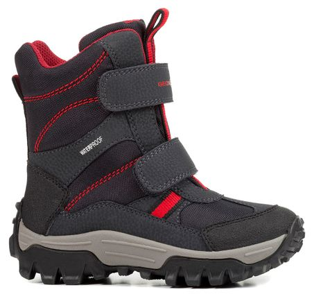 Geox zimowe buty dla chłopców Himalaya 28 szary