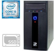 mimovrste=) namizni računalnik i5-8400/8GB/SSD256GB+HDD2TB/GTX1050Ti/FreeDOS (PC-G2855-M)
