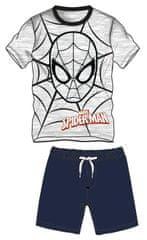 Disney by Arnetta Chlapecký set trička a kraťasů Spiderman - modro-šedý