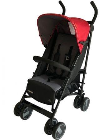 BOMIMI Wózek dla dzieci ELON, Czerowny