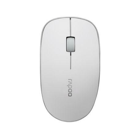 Rapoo brezžična optična miška 3510, 2,4 GHz, bela