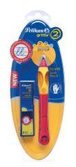 Pelikan Tužka pro leváky Griffix 2 červená