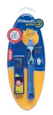 Pelikan svinčnik za levičarje Griffix 2, moder