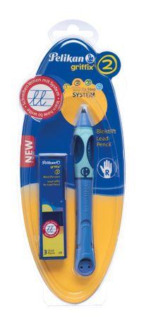 Pelikan Griffix 2 ceruza jobbkezeseknek, kék
