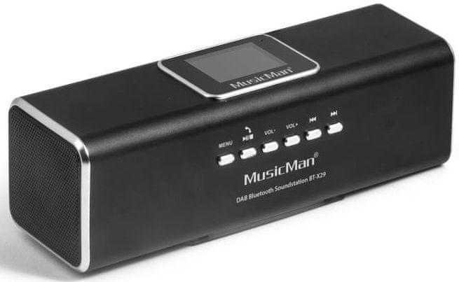 Technaxx MusicMan BT-X29, černá