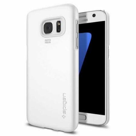 Spigen ovitek Thin Fit za Samsung Galaxy S7, bel