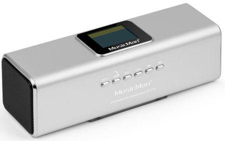 Technaxx MusicMan BT-X29 strieborná