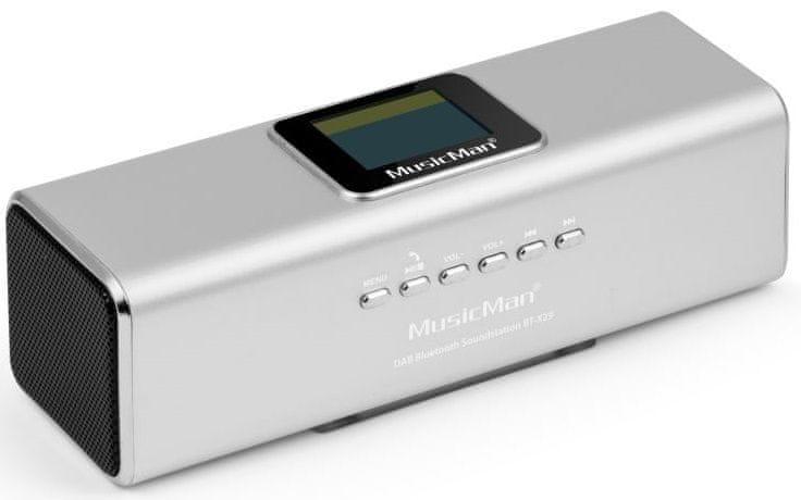 Technaxx MusicMan BT-X29 stříbrná