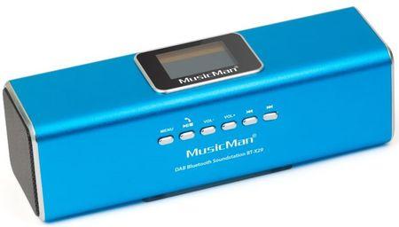 Technaxx MusicMan BT-X29 modrá
