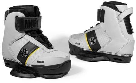 Mofour čevlji za wakeboard Edition Grey, sivi, 6-7