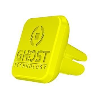 Celly magnetický držák do ventilace CELLY GHOSTVENT pro mobilní telefony, žlutý