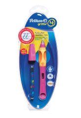 Pelikan Bombičkové pero pre ľavákov Griffix 4 ružové