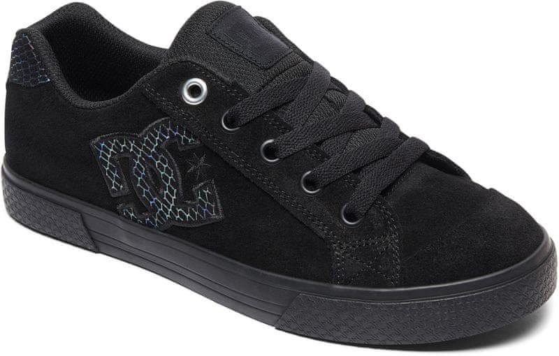 ebedac554ce DC Chelsea SE J Shoe 0Sb Black Silver Black 37
