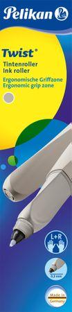 Pelikan Atramentový roller Twist Classic, svetlosivý