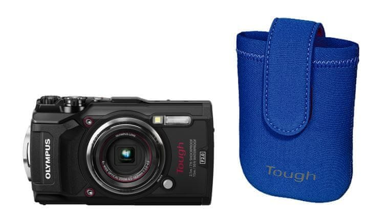 Olympus Tough TG-5 Black + Tough Neoprene Case