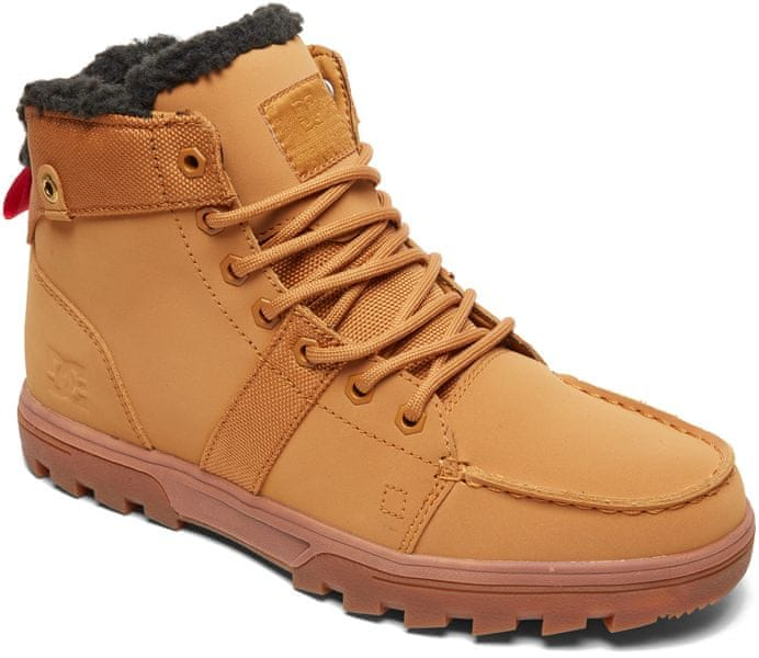 DC Woodland M Boot Wea Wheat Black 44 489a429290