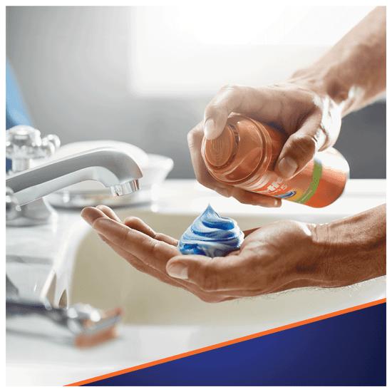 Gillette gel za britje Fusion Sensitive, 200 ml