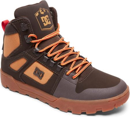 DC buty zimowe męskie Pure Ht Wr Boot M Boot Ch6 Chocolate Brown 42,5
