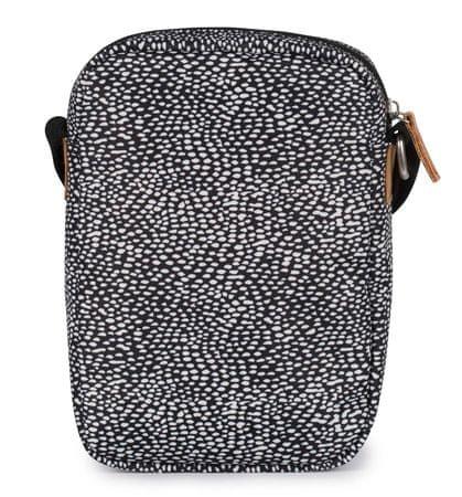 The Pack Society unisex černá crossbody taška