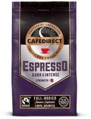 Cafédirect Espresso 100% Arabica mletá káva 227g