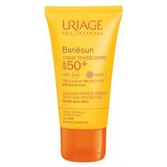 Tónovaný opalovací krém – zlatý odstín SPF 50+ Bariésun (Golden Tinted Cream) 50 ml