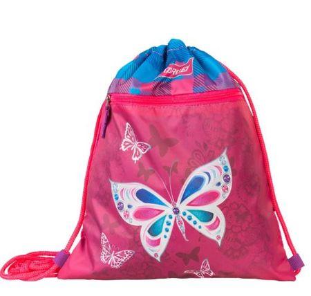 Target vrečka za copate Buterfly Pink 21845