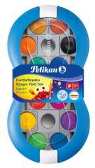 Pelikan Vízfesték Space+ 12 szín, kék