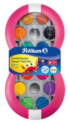 Pelikan Vízfesték Space+ 12 szín, rózsaszín