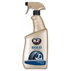 K2 sredstvo za nego in zaščito gumijastih površin Bold, 770 ml