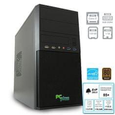 PCplus namizni računalnik e-m@chine i7-7700/8GB/SSD120GB+HDD1TB/FreeDOS (137009)