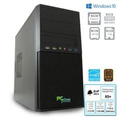PCplus namizni računalnik e-m@chine i7-7700/8GB/SSD120GB+HDD1TB/Win10Pro (137012)