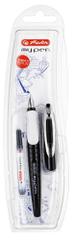 Herlitz Bombičkové pero my.pen-M, černo/bílé