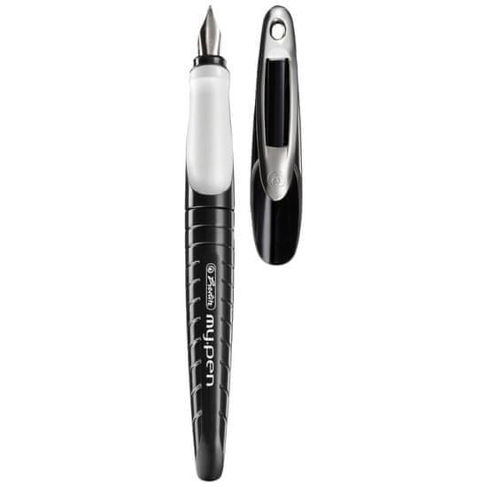 Herlitz nalivpero my.pen-M, crno-bijelo